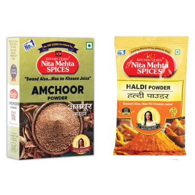 Special Combo For Daily Need Amchoor Powder 100g | Haldi Powder 100g (200g, Pack 2)